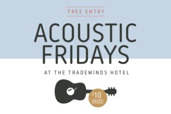 Acoustic Fridays & $10 Cocktails