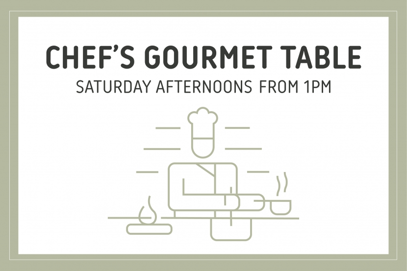 image: Chef's Gourmet Table