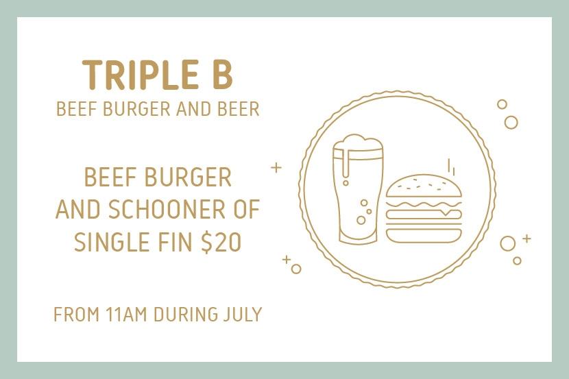 image: Triple B – Beef Burger and Beer